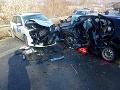 FOTO Tragická dopravná nehoda pri Veľkom Šariši: Zahynula mladá žena