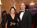 Iveta Malachovská s manželom Martinom
