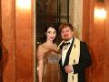 Lucia Hablovičová s módnym návrhárom Borisom Hanečkom