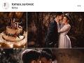 Z Tomáša Surovca je ženatý muž. Za manželku si vzal krásnu Ninu.
