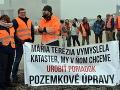 Farmári vyšli po vražde kolegu do ulíc: FOTO Sme utláčaní agropodnikateľmi a silnou korupciou