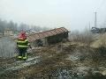 Dramatické zábery z Krompách, vykoľajený vlak ochromil dopravu: Hasiči už vedia, kedy trať otvoria