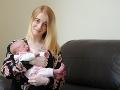 FOTO Bábätko vyvolalo rozruch na pôrodnej sále: Otvorilo ústa a lekári zostali ohromení