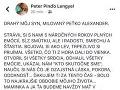 Peter Lengyel venoval synčekovi posledné vrúcne slová.