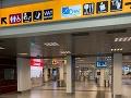 Poplach na letisku v Ríme, v priestoroch terminálu vypukol požiar