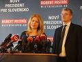 VOLEBNÝ PRIESKUM Voliči Mistríka by dali svoj hlas Čaputovej, v hre je aj Šefčovič