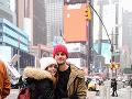 S manželom Adrianom si nedávno dopriali výlet do Ameriky, ktorý si obaja vysnívali.