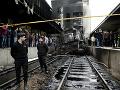 Tragické nešťastie na železničnej stanici v Káhire: VIDEO Veľký požiar, najmenej 25 mŕtvych