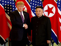 FOTO Trump a Kim Čong-un sa zišli na druhom summite: Donald pred schôdzkou sršal optimizmom