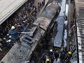 VIDEO Hrôzostrašná nehoda vlaku, ktorý narazil do stanice: Ľudia utekali pred plameňmi!