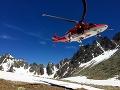 Leteckí záchranári v nasadení: V Demänovskej doline dievčatko (5) náhle stratilo vedomie