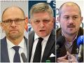 Prekvapivý PRIESKUM parlamentných strán: Kotlebova strana je druhá, SaS a OĽaNO klesajú