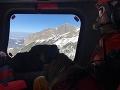 Tragický pád lavíny v Tatrách.