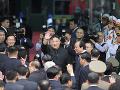 Kim Čong-un navštívil mauzóleum, sadol do svojho vlaku a odcestoval naspäť domov