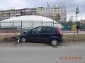 Opitý vodič v Košiciach narazil do bezpečnostného zábradlia.