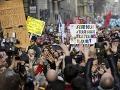 Miláno na nohách: Desaťtisíce ľudí protestovali proti politike populistickej vlády