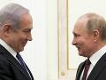 Netanjahu sa v Soči stretol s Putinom: Deň po tom, čo Moskva kritizovala jeho vyhlásenia