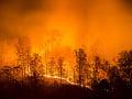 Na severe Španielska úradujú veľké požiare: Sucho a silný vietor sťažujú podmienky