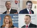 Netaja sympatie: Kandidáti ukázali na svojich obľúbených prezidentov, vedie Kováč