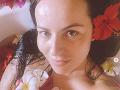 Katka Knechtová zverejnila záber z vane.