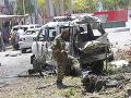 Teroristický útok v centre Mogadiša: Dva výbuchy zabili najmenej 11 ľudí