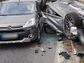 Hromadná nehoda v Žiline: FOTO Stačila jediná zbytočná chyba vodiča, zrazilo sa päť áut