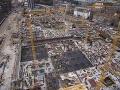 Nehoda na stavbe autobusovej stanice v Bratislave: Robotník spadol z dvojmetrovej výšky