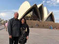 Martin a Iveta Malachovskí navštívili aj Sydney.