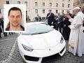 Luxusný automobil, ktorý patril pápežovi Františkovi, vyhral Čech s uvedeným menom Vlada N.