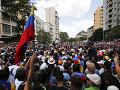 Venezuelský opozičný líder Juan Guaidó ohlásil v sobotu celonárodný pochod do Caracasu.