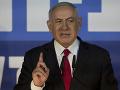 Netanjahu sľubuje, že ak vyhrá voľby, zabezpečí anexiu židovských enkláv