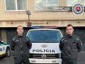 Hliadky obvodného oddelenia PZ Sereď zachránili život muža.