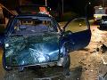 Nezodpovedný otec si sadol opitý za volant: FOTO Havaroval, v aute sedela jeho žena a dcéra (11)