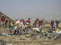 Vyšetrovanie pádu lietadla v Etiópii: Čierne skrinky chcú poslať do zahraničia