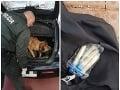 FOTO drogového úlovku bratislavských PMJ-čkárov, hrozivý nález v aute, páchatelia ledva hovorili