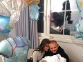 Jasmina Alagič a Patrik Rytmus Vrbovský si vyskúšali, ako im to svedčí s bábätkom. Jasmina sa totiž nedávno stala tetou.