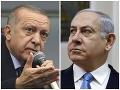Ostrá slovná prestrelka medzi Erdoganom a Netanjahuom: V útokoch si nič nedarovali