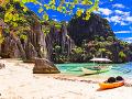 Filipíny v El Nido skrývajú aj takéto prírodné zákutia.