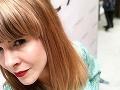 Kristína Tormová zosvetľovala svoje vlasy.