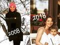 Viki Ráková s rozdielom 10 rokov