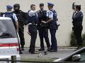 Streľba v dvoch mešitách v meste Christchurch.