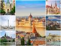 Budapešť patrí k najkrajším
