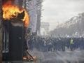 Francúzsko už má dosť výtržností: Hovorí sa o zákaze demonštrácií na známom bulvári