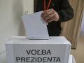Väčšina volebných miestností sa