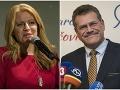 Politológ a Hrabko bez servítky: Čaputová a Šefčovič nie sú kandidátmi zmeny