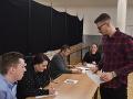 Mladý volič v Trnave