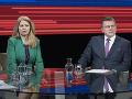Súboj o post prezidenta vrcholí: Šefčoviča sklamal nezáujem Čaputovej o spoločné diskusie