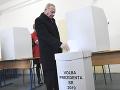 Bývalý prezident Rudolf Schuster odvolil v Košiciach