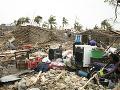 Škody po cyklóne v