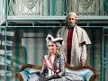 Braňo Deák a Sisa Lelkes Sklovská v predstavení Mária Terézia - posledná milosť.